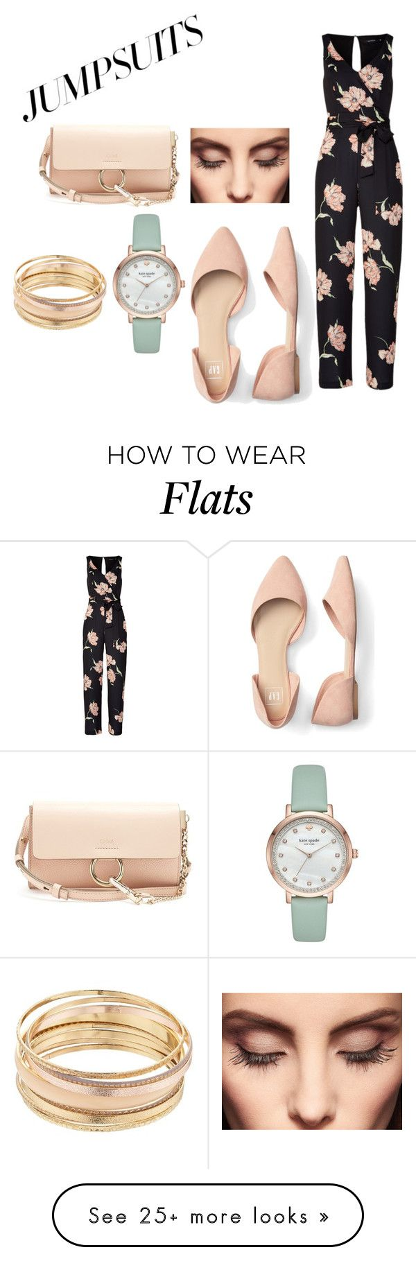 """""""Jumpsuit chic"""" by gracieandem on Polyvore featuring Chloé, Mudd, Kate Spade, Claire Evans and jumpsuits"""