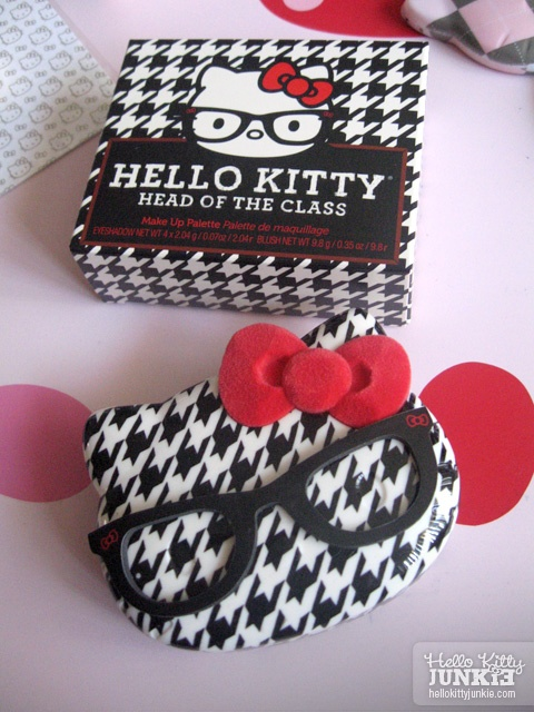 Hello Kitty Head of the Class eyeshadows/blush palette from Sephora