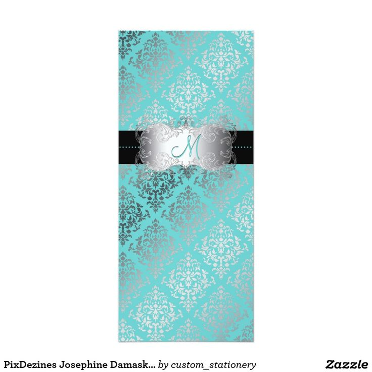 PixDezines Josephine DamaskDIY background color Invitation 102