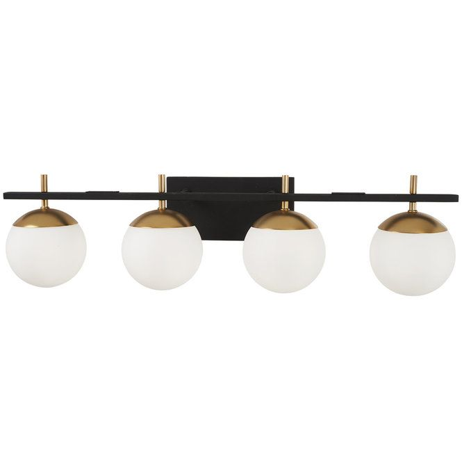 Harmony Globes Vanity Light 4 Light Vanity Lighting Light