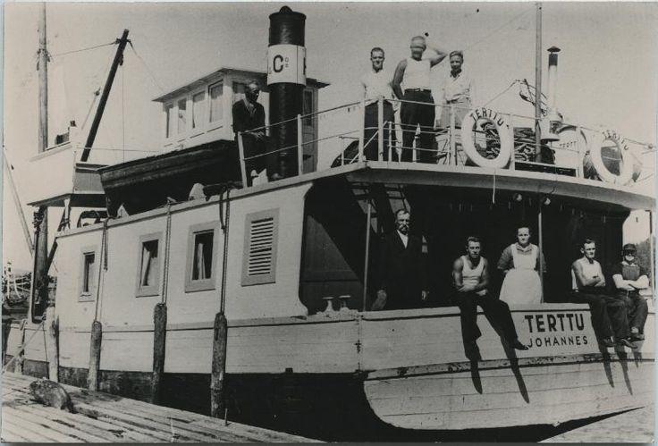 #laivat #höyrylaivat #Hackman #steamboat #Terttu #Johannes