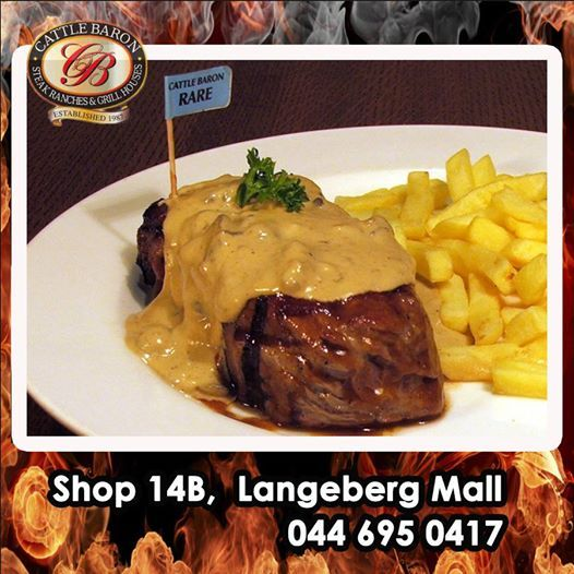 Saturday at last, and let the weekend begin. Why not join Cattle Baron Mossel Bay today for a succulent Steak and sauce for lunch? Don't forget though we also have our Saturday night Buffet to get you out of the house during Earth Hour, so that you can do your part in saving energy. #steakhouse #earthhour #cuisine
