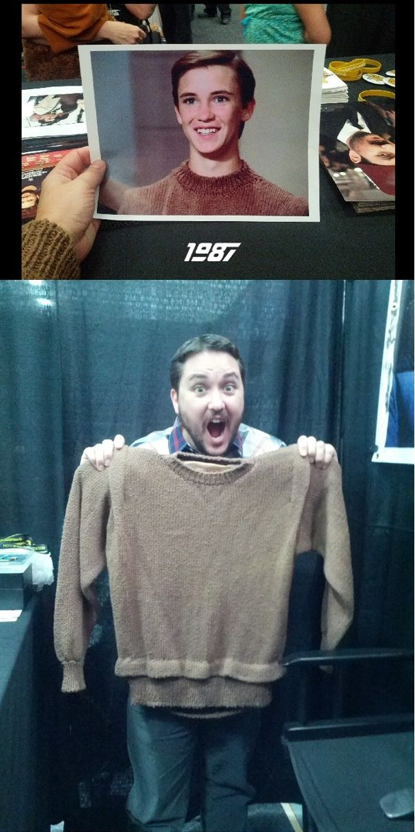 Wil Wheaton Reunites With His Wesley Crusher Uniform After 30 Years