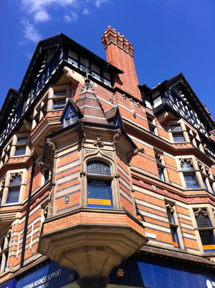 A Fothergill Watson designed building in Nottingham