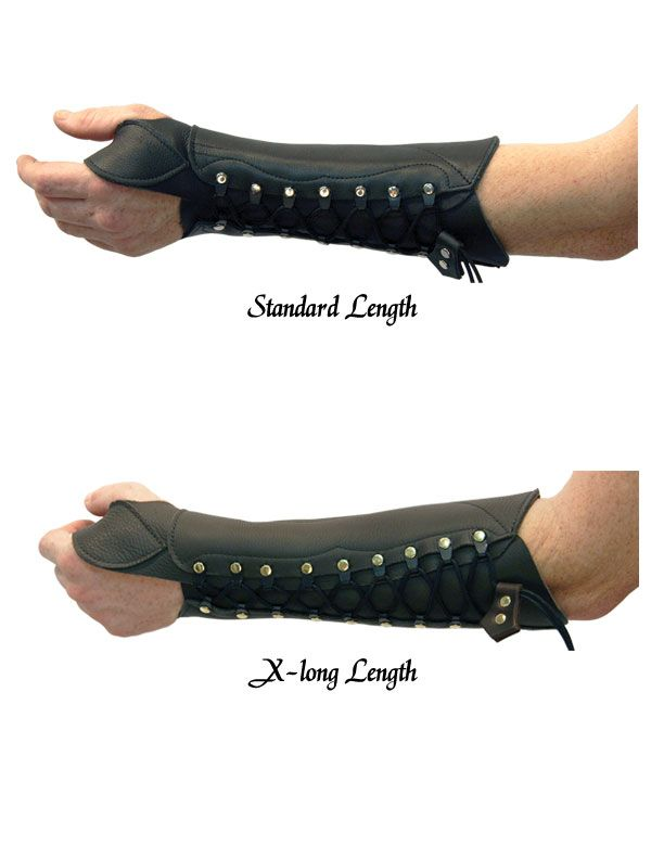 Idea para brazo - además es de arquero xD solo hará falta un arco steampunk jijiji (Sherwood Archer Bracer Mens, by Ravenswood Leather)