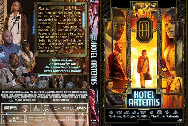 Hotel Artemis Dvd Cover Dzhodi Foster
