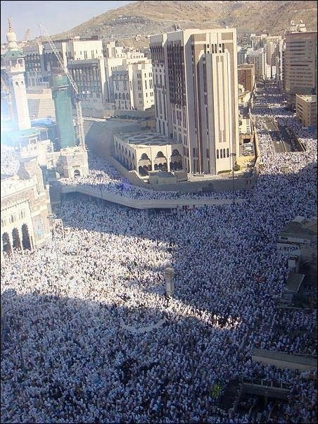 Subhanallah. Milion people doing pilgrimage every year. May Allah bless them.