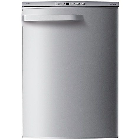 Buy John Lewis JLUCFZS6011 Frost Free Freezer, A+ Energy Rating, 60cm Wide, Stainless Steel Online at johnlewis.com