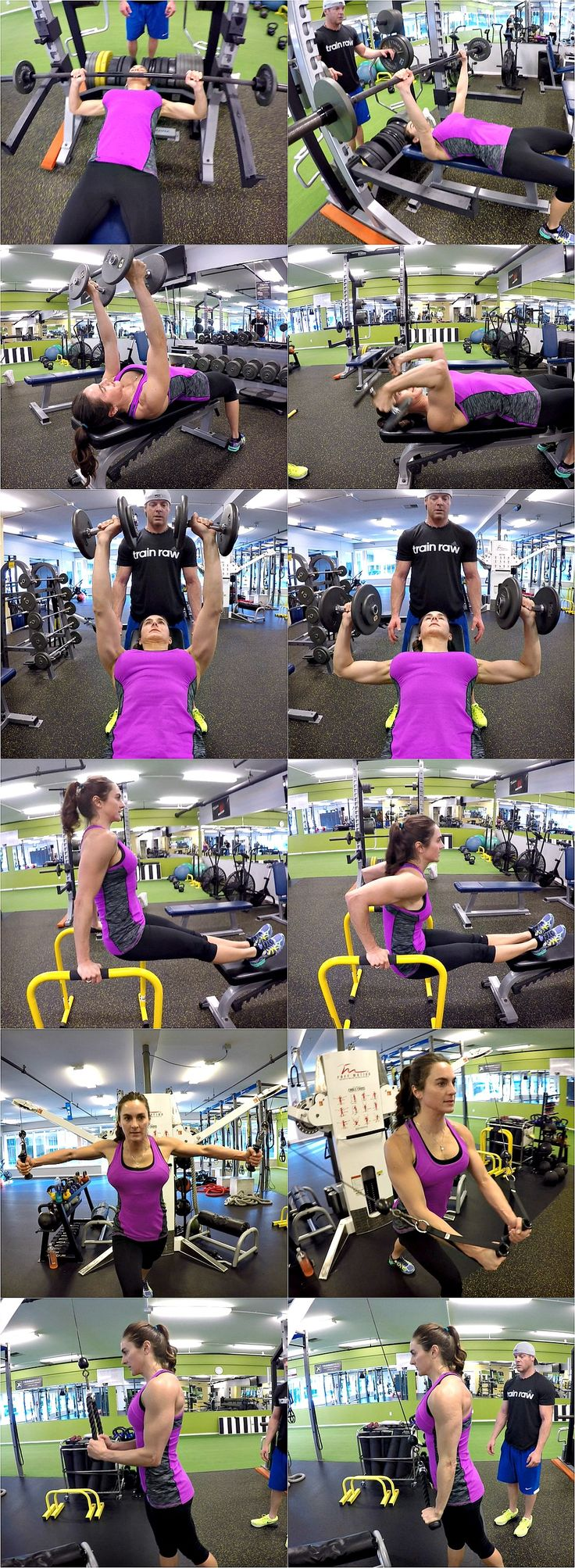 10 Weeks To Fitness-Day 53: Triceps & Chest