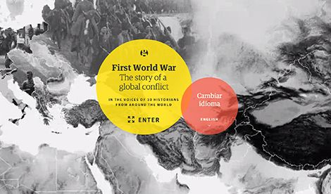 A global guide to the first world war - interactive documentary