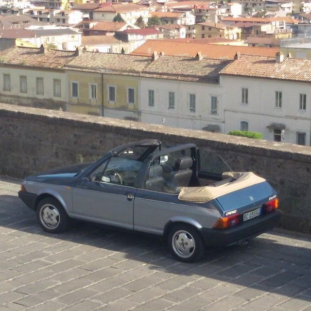 Fiat Ritmo cabrio