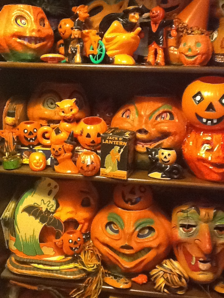 183 best Vintage Halloween Collectables images on Pinterest ...