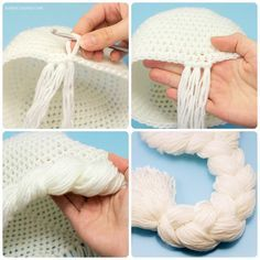 Frozen Princess Elsa Inspired Hat Crochet Pattern