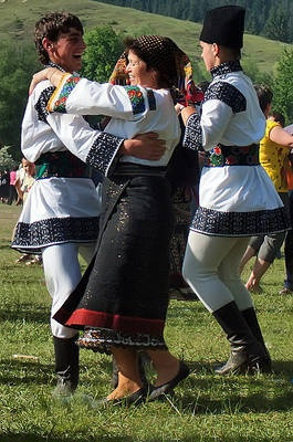 Romanian dances