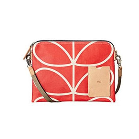 Orla Kiely Giant Stem Print Travel Pouch - Clutch - Nappy Bag