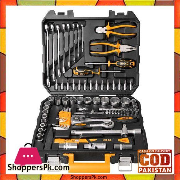 Buy 77 Pcs Cv Socket And Tool Set Black And Orange At Best Price In Pakistan Tool Set Sockets Tools