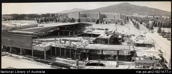 [Construction of the Monaro Mall in Canberra] [picture].