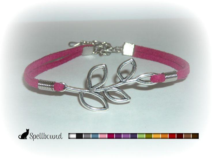 Leaf Infinity Bracelet, Friendship Bracelet