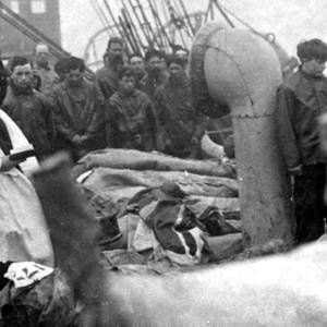 Haunting photo uncovered of Titanic victims being buried at sea - BelfastTelegraph.co.uk