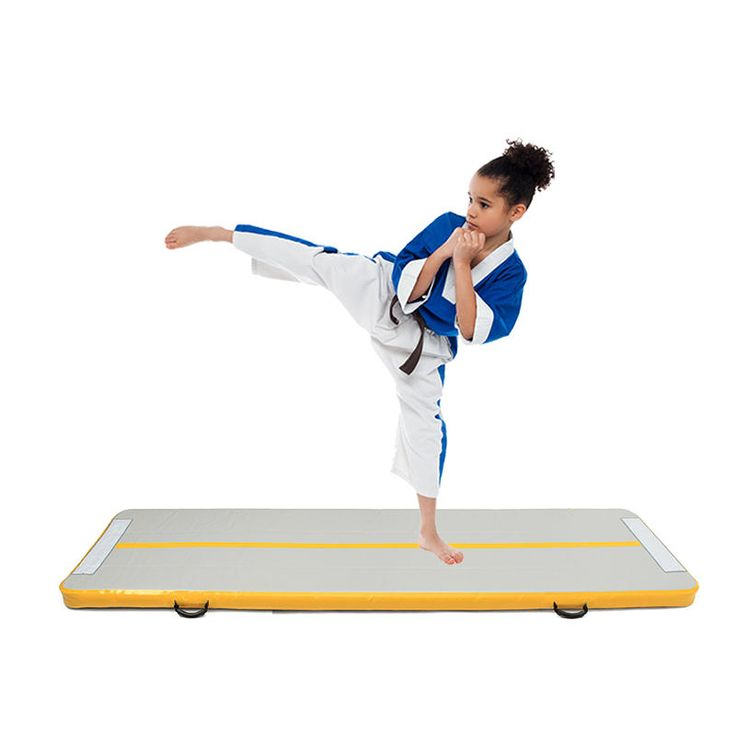 IPRee® Gym Air Track Floor Pad Home Gymnastics Tumbling Inflatable Rolling Mat Sale - Banggood.com  #sports #outdoor #fitness