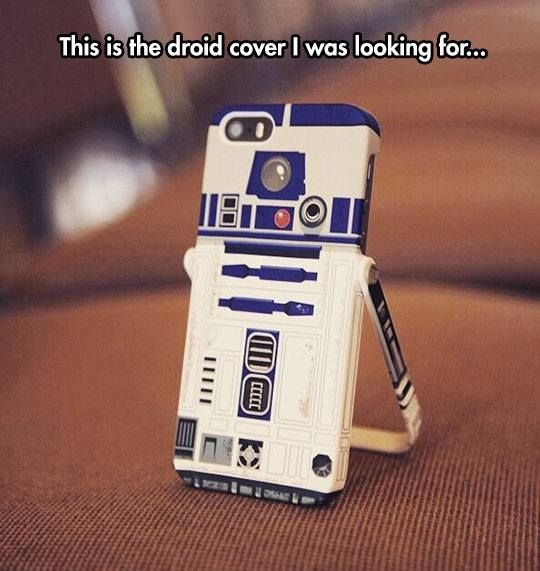 Best Iphone phone case ever – awesome Star wards droid you are looking for