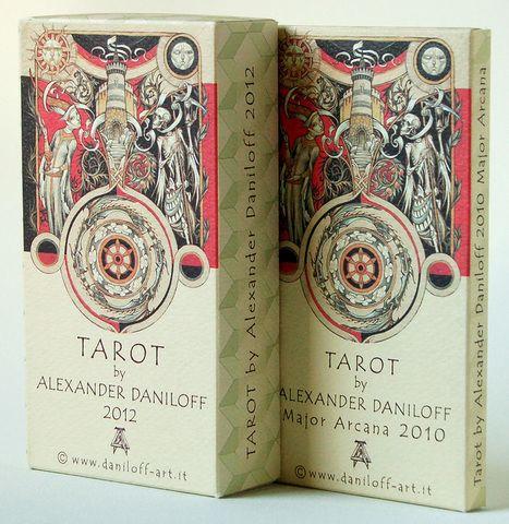 Alexander Daniloff Tarot http://www.daniloff-art.it/Tarocchi%20gallery/Tarot%20index.html