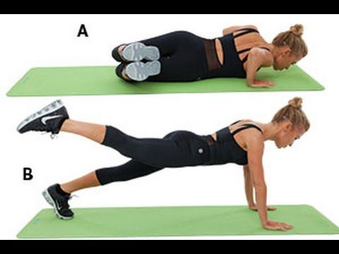 4 Fast Booty and Ab Exercises | Health