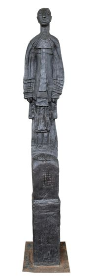 An original sculpture by Deborah Bell entitled: Sentinel VI. bronze. #DeborahBell #FineArt #SouthAfricanArt #SouthAfricanArtist #Bronze #Sentinel For more please visit: www.finearts.co.za