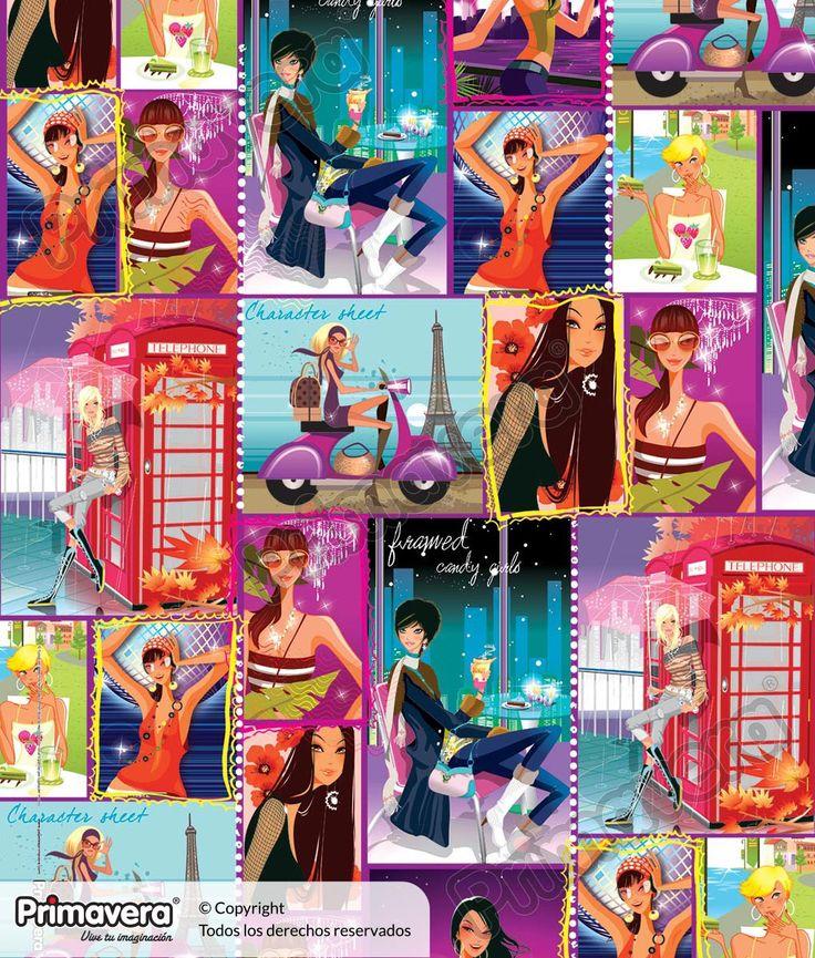 Papel regalo 15 Años 1-487-486 http://envoltura.papelesprimavera.com/product/papel-regalo-celebracion-1-487-486/