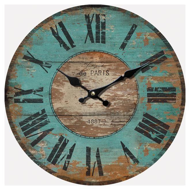 12 Antiquite De Paris 1887 Wall Clock Wall Clock Clock Accent Decor