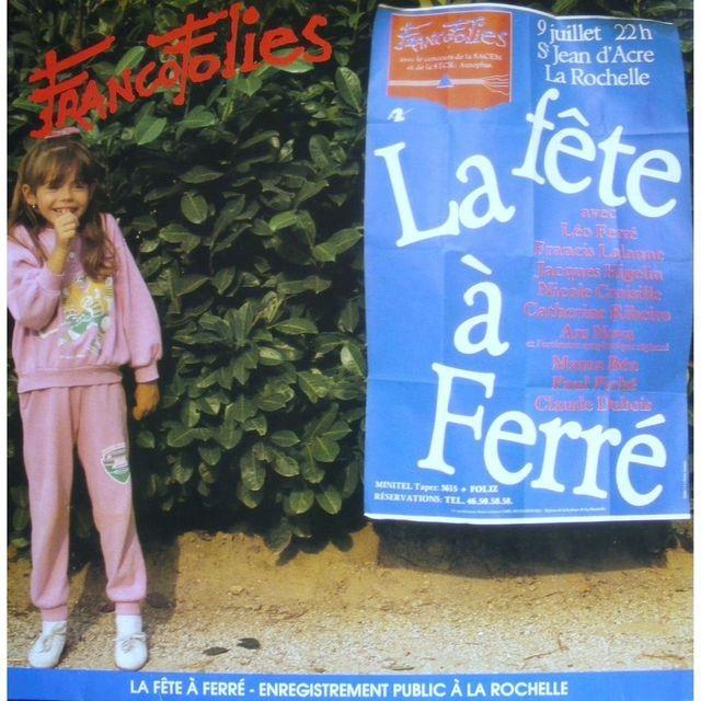 Fête à Ferré Francofolies 1987