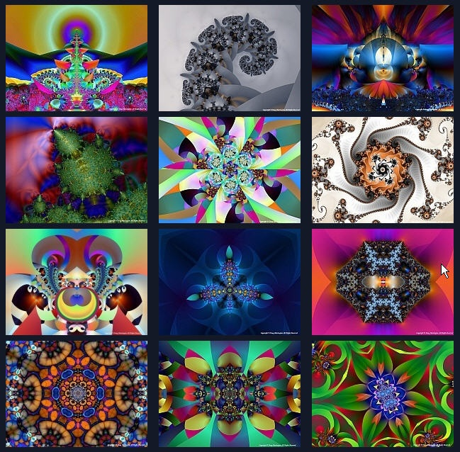 how to create a fractal generator