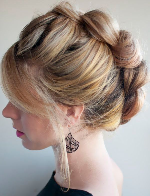 Stunning and Unique Braided Updo Hairstyles 2015