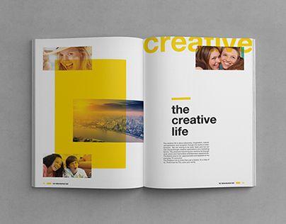 64 best Ispirazione brochure images on Pinterest Page layout - modern brochure design