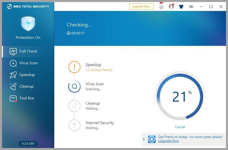 Tο 360 Total Security αποτελεί ένα από τα καλύτερα δωρεάν προγράμματα για τον έλεγχο του υπολογιστή σας και όχι μόνο. Περιλαμβάνει πέντε από τις καλύτερες μηχανές antivirus συμπεριλαμβανομένων των Avira και Bitdefender προστατεύοντας σας από κακόβουλο λογισμικό phishing δούρειους ίππους αλλά και άγνωστες απειλές μέσω της τεχνολογίας cloud παρέχοντας πλήρη προστασία.  Πέραν της κλασικής λειτουργίας του προγράμματος ως antivirus προσφέρει και πολύ καλές υπηρεσίες βελτιστοποίησης και καθαρισμού…