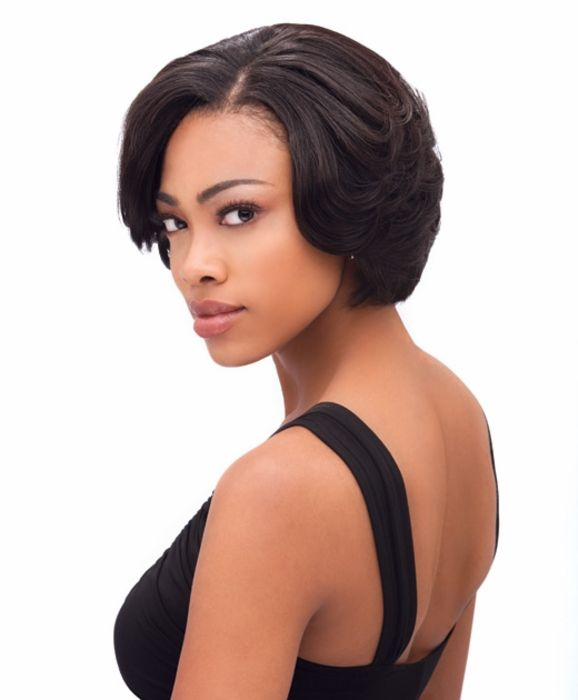 76 best short wigs for black women images on pinterest short bump trio human hair weave for black women pmusecretfo Image collections