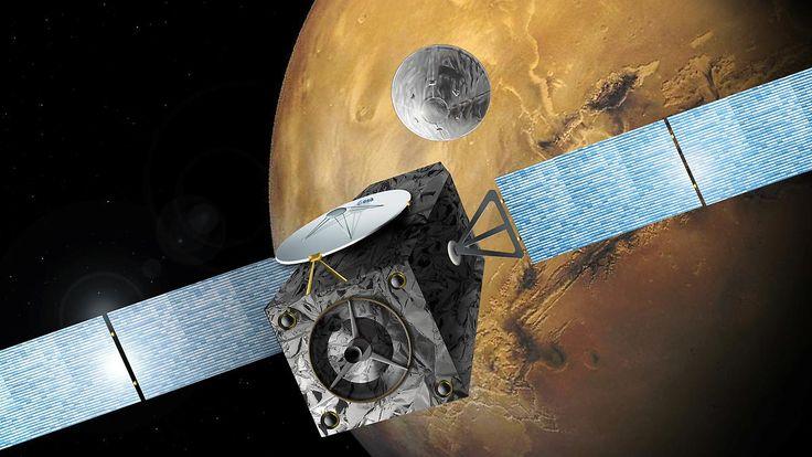 Europäisch-russische Mission: Esa empfängt Signal vom Mars-Satelliten