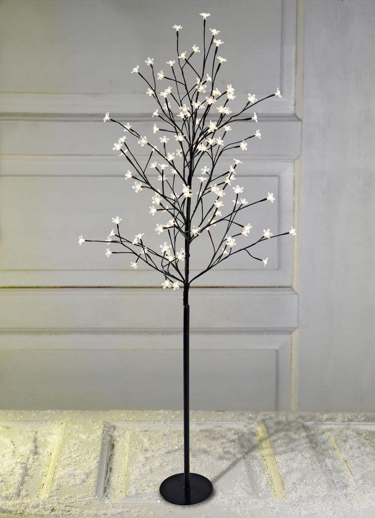 Kerstboom BYLEIST H150 bloemlampjes LED JYSK Kerstboom