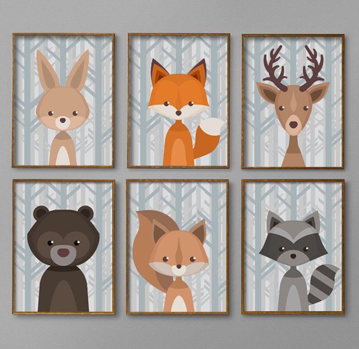 The 25+ best Woodland creatures nursery ideas on Pinterest ...