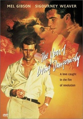 The Year of Living Dangerously (1982) ~ Mel Gibson, Sigourney Weaver, Linda Hunt. Director: Peter Weir.