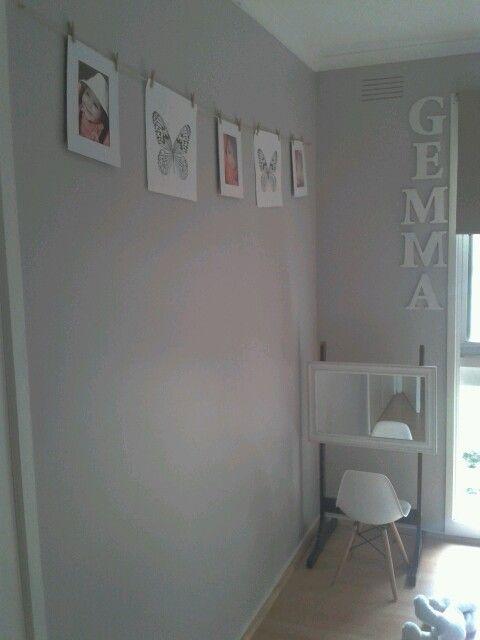 Gems Bedroom Taubmans Silver Spoon Paint White Trim