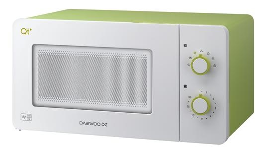 the other daewoo microwave option. again bench worthy. Love the retro/modern look