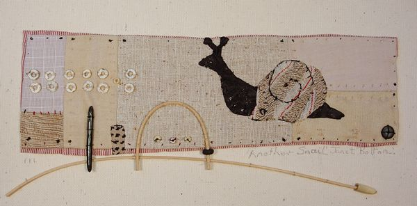 An example of Janet Bolton's lovely textile work