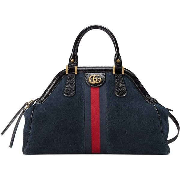 Gucci Medium Top Handle Tote ( 2,500) ❤ liked on Polyvore featuring bags,  handbags f01da0631c