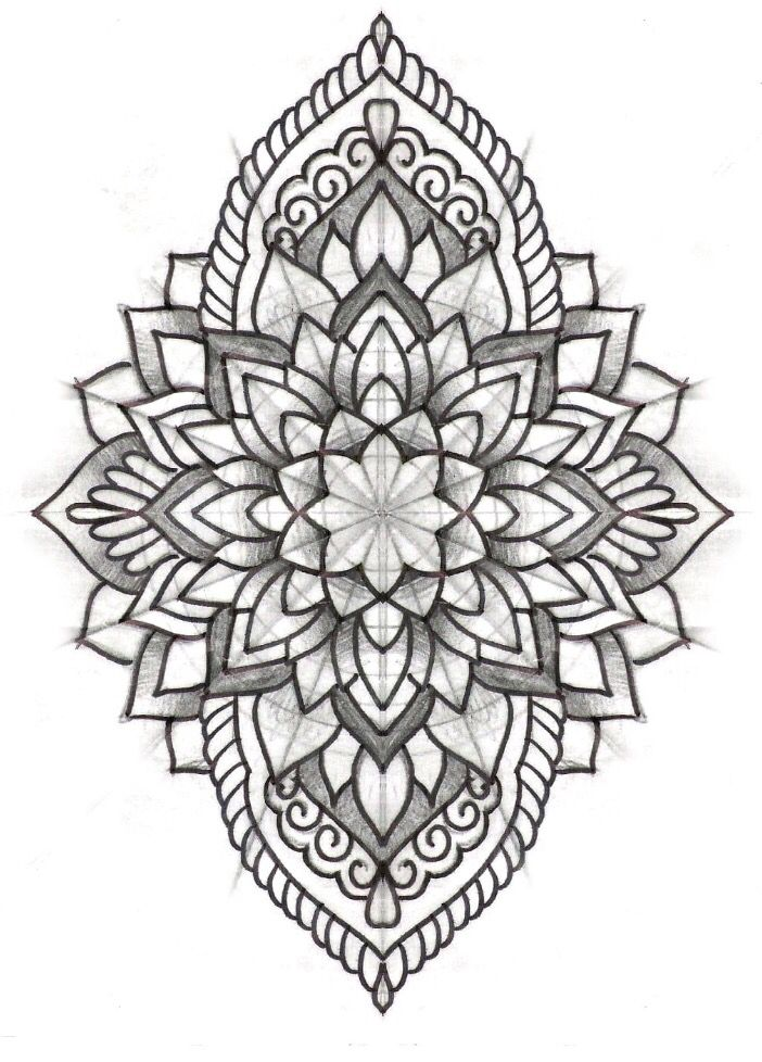 Mandala tattoo design on pinterest a selection of the best ideas to