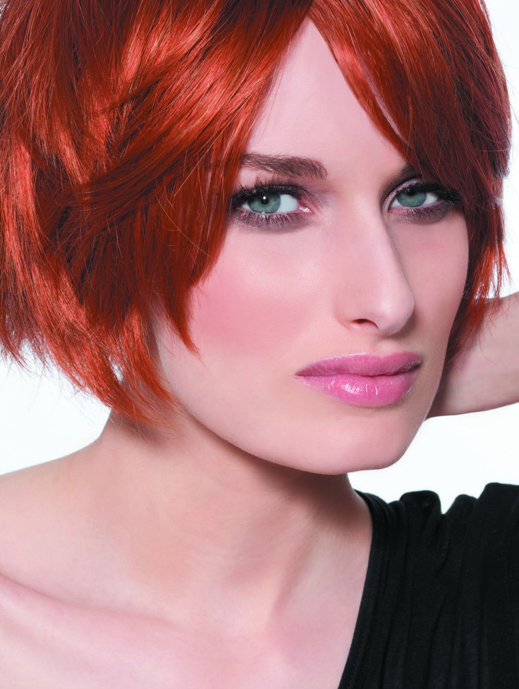 #coloration #cheveux #rouge BIGUINE