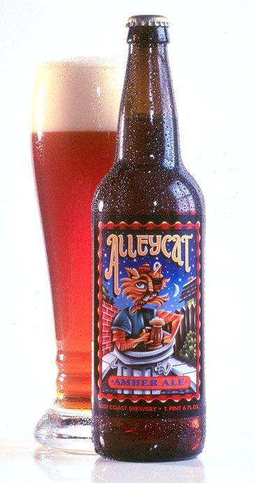 Alleycat Amber Ale from Lost Coast Brewery