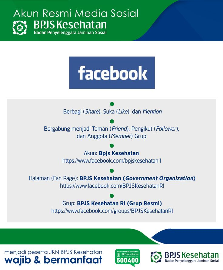 Media Sosial BPJS Kesehatan, Facebook