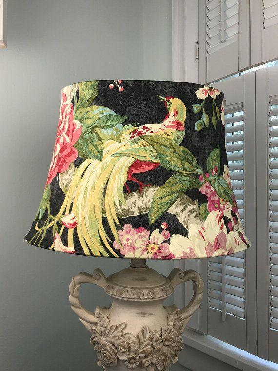 Shabby Chic Lamp Shade Bohemian Lamp Shade Eclectic Lamp Shade