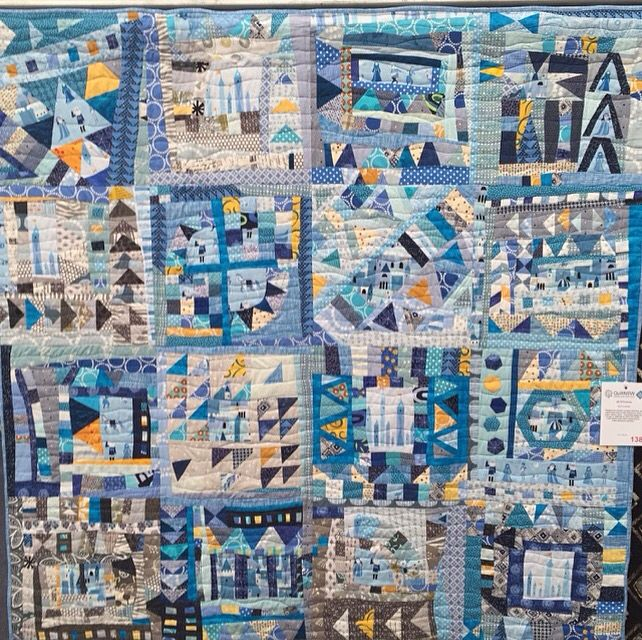 Cut Loose June 2016 , Sydney Quilt Show